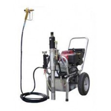 PAINT AND PLASTERING AIRLESS PUMP HTP 21000 (WITH GAS ENGINE)