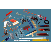 ACCESSORIES FOR MECHANIZED PLASTERING
